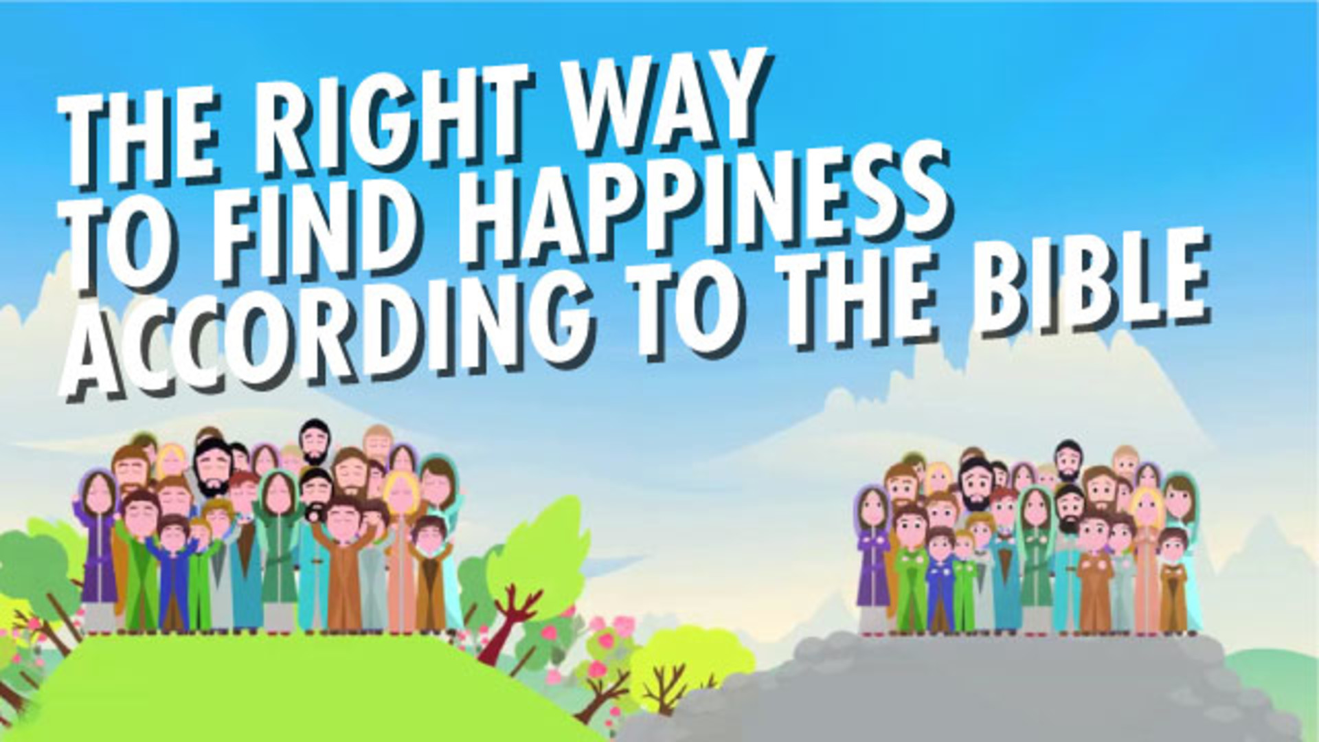 Finding true happiness in Bible