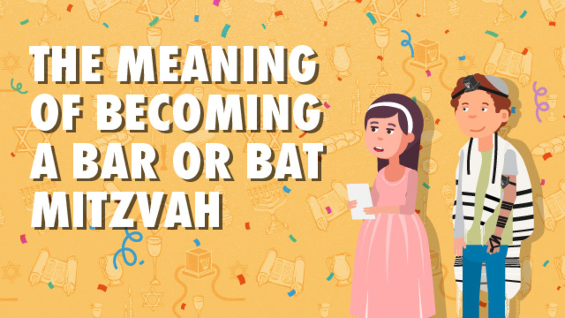 The Meaning of Becoming a Bar or Bat Mitzvah